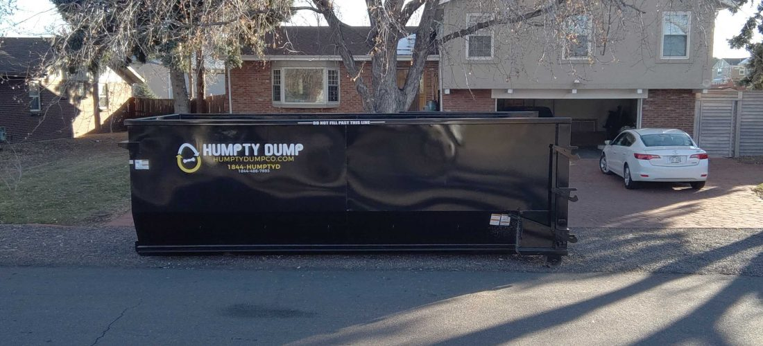 """featured image of the blog titled """"Tips Before Renting A Dumpster in Denver"""""""