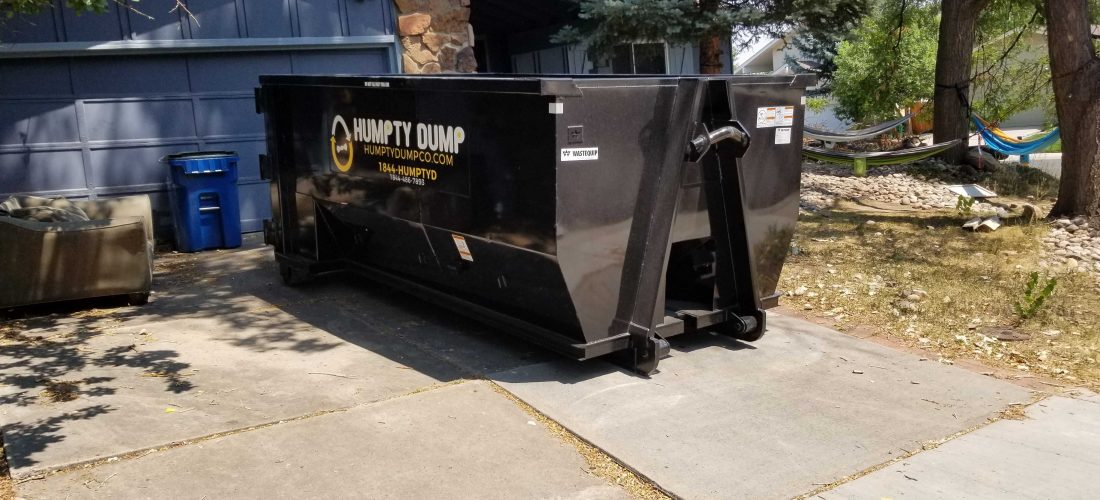 """featured image of the blog titled """"Perks of Using A Construction Dumpster Rental in Centennial"""""""