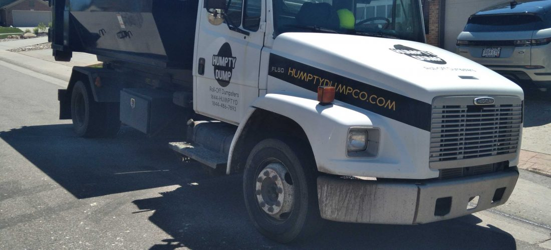 """featured image of the blog titled """"Advantages of Using a Dumpster Rental Over a Junk Removal Service"""""""