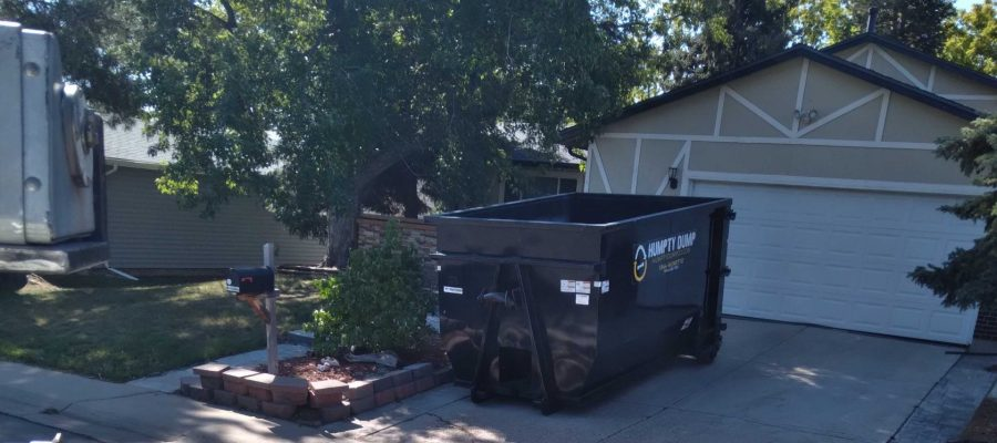 """featured image of the blog titled """"The Top Residential Dumpster Rental Service in Aurora, CO"""""""